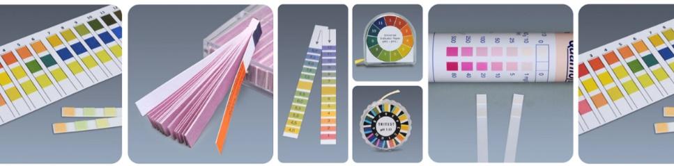 pH試験紙の測定範囲と早見表